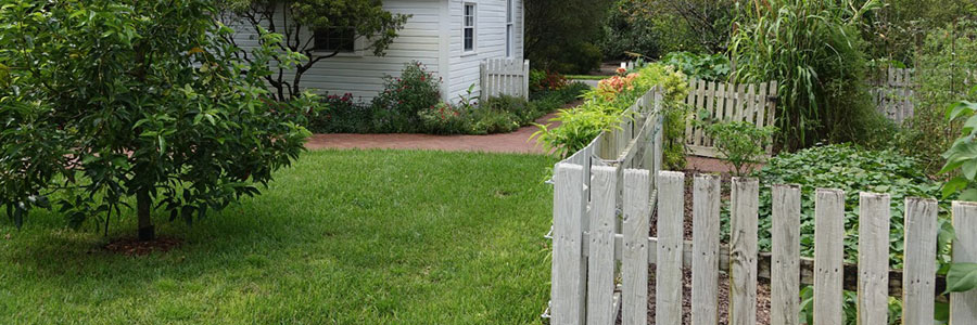 Building a fence for your garden?