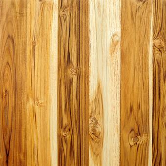 Fir wood fence