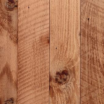 Western red cedar wood fence