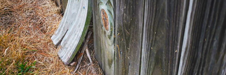 What causes your fence to sag and lean?